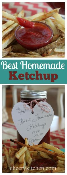 Best Homemade Ketchup (need substitute for tomato paste) Homemade Ketchup, Homemade Seasonings, Homemade Sauce, Homemade Food, Tomato Ketchup Recipe, Homemade Baby, Sauce Recipes, Vegan Recipes, Vegan Sauces