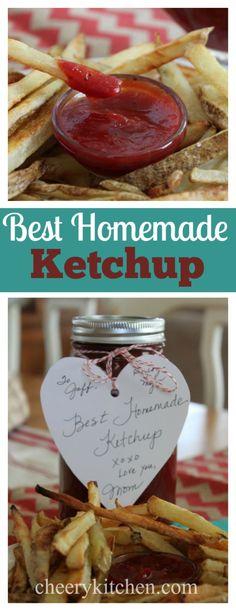 Best Homemade Ketchup