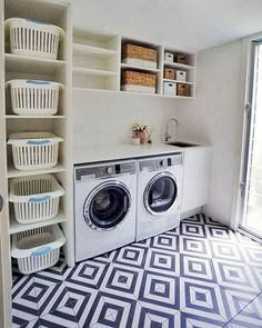 37 Creative And Inspiring Laundry Room Decor Idea #Creative #decor #idea #Inspiring #Laundry #laundry_room_storage #Room