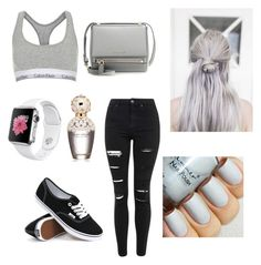 """""""Untitled #13"""" by salma-wesam on Polyvore featuring Topshop, Vans, Givenchy, Marc Jacobs, women's clothing, women's fashion, women, female, woman and misses"""