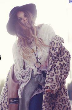 70s gypsy bohemian hippie fashion