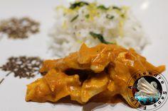 Blancs de poulet au curry http://www.aprendresansfaim.com/2015/07/blancs-de-poulet-au-curry.html
