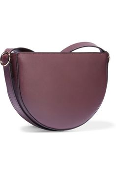 Grape leather (Calf) Magnetic fastening along top Comes with dust bag Weighs approximately 2.4lbs/ 1.1kg Made in ItalyAs seen in The EDIT magazine