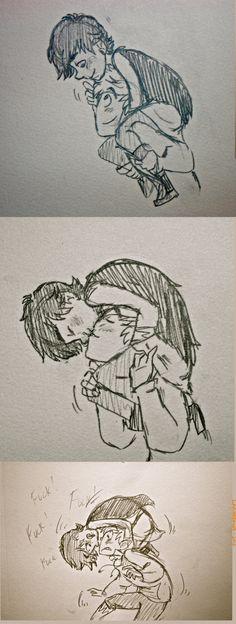 Hijack: Kiss Kiss Fallin' Love by LarynDawn.deviantart.com on @deviantART