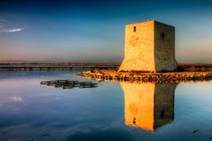 "Photo ""Torre de Tamarit II"" by Mario Galiana Golden Hour, Mario, Spain, Exterior, Alicante Spain, Towers, Sevilla Spain, Outdoor Rooms, Spanish"