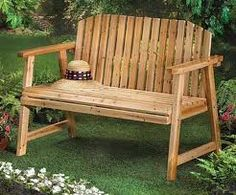 Beautifying The Garden Or Yard With A Bench