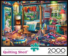 36f6efd7b38c3 Quilting Shed 2000 Piece Jigsaw Puzzle