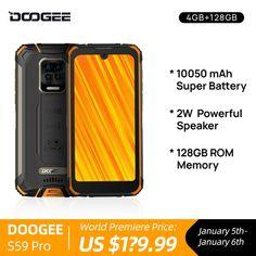 World Premiere 10050mAh Super Battery DOOGEE S59 Pro IP68/IP69K 4+128GB NFC Rugged Smartphone 2W Loud Volume Speaker doogee s90,doogee s95 pro,doogee n20,doogee y8,doogee x90,doogee s80,doogee s68 pro,doogee s60,doogee s95,doogee s55,doogee phone,doogee n10,doogee s60 lite,doogee x70,doogee y9 plus,doogee x90l,doogee s70,doogee s96 pro,doogee s68,doogee x55,doogee s90 pro,doogee x5,téléphone doogee,doogee smartphone,doogee mobile,