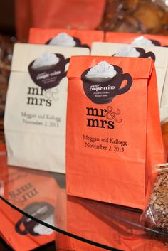 #NationalCoffeeDay Custom-made Coffee Wedding Favors | Timeless Celebrations by Peggy Kelley https://www.theknot.com/marketplace/timeless-celebrations-by-peggy-kelley-pasadena-ca-396419 | Allison Maginn Photography https://www.theknot.com/marketplace/allison-maginn-los-angeles-ca-447123 | Tradition Golf Club – La Quinta, California https://www.theknot.com/marketplace/tradition-golf-course-la-quinta-ca-664575 |