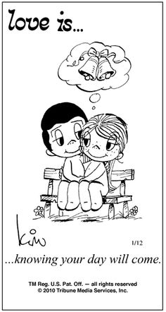 Aww so. Lucky they are. Love Is. knowing your day will come. Love Is Comic, Love Is Cartoon, What Is Love, Love You, My Love, Distance Love, Love Notes, Love And Marriage, Happy Marriage