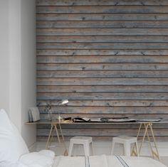 Hey, look at this wallpaper from Rebel Walls, Horizontal Boards! #rebelwalls #wallpaper #wallmurals