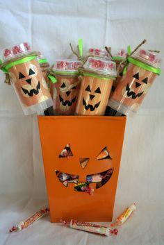 Smarties Pumpkin Push Pops