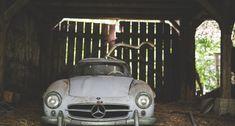 Ist dieser Mercedes-Benz 300 SL der größte Scheunenfund aller Zeiten? | Classic Driver Magazine Mercedes Benz 300, West Virginia, Autos, Automobile