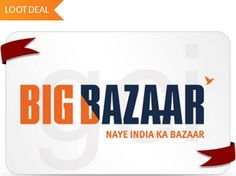 Loot Lo : Grab Rs. 1000 Bigbazaar GV At Just Rs. 650 [New Users Only]