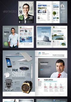 Indesign Magazine Template  Graphicriver Item For Sale  Layout