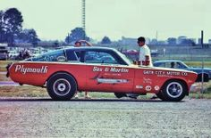 Ronnie Sox Buddy Martin Plymouth Barracuda AF/X Drag Race Mopar.