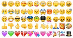 Des centaines d'Emojis à copier/coller Emoji Diy, Le Emoji, Smiley Emoji, Emoji Faces, Tinder App, Like Tinder, Every Emoji, Journal Quotidien, World Emoji Day