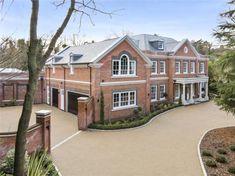 5 bedroom detached house for sale in Stokesheath Road, Oxshott, Surrey, - Rightmove. Door Design, Exterior Design, House Design, Style At Home, House Outside Design, Dream Mansion, Dream House Exterior, House Exteriors, Property Design