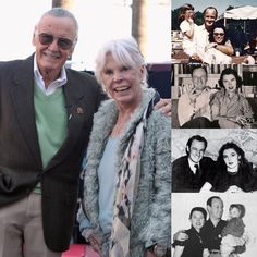 Stan and Joan Lee before her passing they were close to celebrating their wedding anniversary. Marvel Comics, Marvel Heroes, Captain Marvel, Marvel Dc, Stan Lee, Spiderman Art, Captain America Civil War, Marvel Entertainment, Marvel Universe