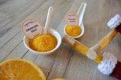 Orangensalz und Orangenzucker