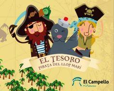 Buscar el Tesoro Pirata del Llop Marí en #ElCampello Diversión #enfamilia (archivo) #archivo http://blgs.co/0a77zw