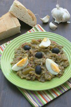 Slata Méchouia : salade de poivrons grillés à la Tunisienne