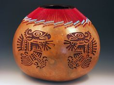 """""""Eagle Gourd"""" by Cindy Lee"""