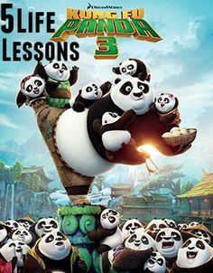 5 Life Lessons from DreamWorks Kung Fu Panda 3 + A Real Live Panda Cam & Great Party Ideas To Pin
