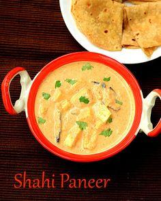 Rich n creamy side dish for roti,naan & kulcha - Shahi Paneer masala !