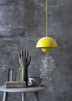 The Verner Panton Flowerpot Pendant Lamp, designed in was named after the happy days of Flower Power. An object cannot become a design icon until it