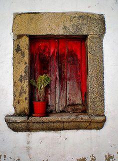 Alentejo window, Portugal