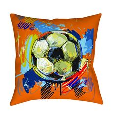 This pillow is the perfect accent for any sofa, bed or chair. The face and back are made from soft woven polyester. The image is printed on both the front and back making the pillow reversible. Filled
