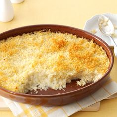 Mashed Cauliflower au Gratin Recipe from Taste of Home