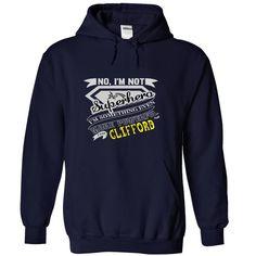 CLIFFORD. No, Im Not Superhero Im Something Even More Powerful. I Am CLIFFORD - T Shirt, Hoodie, Hoodies, Year,Name, Birthday - T-Shirt, Hoodie, Sweatshirt