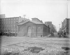 Philadelphia photographs broad vintage street station