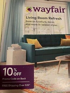 Wayfair Coupon 10% Off Purchase Expires November 15 2020... 10 Off, Coupon Codes, Coupons, November, Coding, Home Decor, November Born, Decoration Home, Coupon