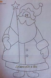 Aprende con este tutorial a hacer hermosos cuadros navideños ~ lodijoella Christmas Patchwork, Christmas Applique, Felt Christmas, Christmas Stockings, Applique Templates, Applique Patterns, Quilt Patterns, Christmas Crafts, Christmas Decorations