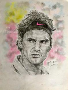 El lápiz que retrata el alma: Roger Federer cumplió ayer 36 años