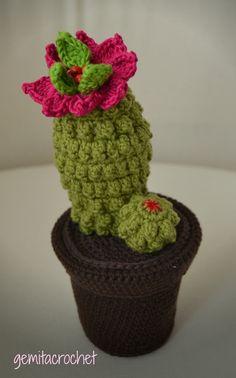 Helpful Guidelines In Growing Indoor Bonsai Trees Cactus Crochet Crochet Poppy, Crochet Cactus, Love Crochet, Crochet Toys, Crochet Flower Patterns, Crochet Patterns For Beginners, Crochet Flowers, Cactus E Suculentas, Cactus Craft