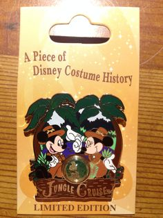 Cast Exclusive - A Piece of Disney Costume History - Jungle Cruise - Limited Edition 1000