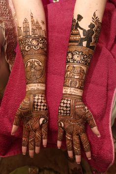 Simple Mehndi Designs for every Occasion - SetMyWed Peacock Mehndi Designs, Latest Bridal Mehndi Designs, Indian Mehndi Designs, Mehndi Designs For Girls, Modern Mehndi Designs, Wedding Mehndi Designs, Modern Henna, Wedding Henna, Legs Mehndi Design