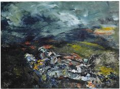 A painting by Irish artist Jack B Yeats owned by the late David Bowie will be offered at Sotheby's in November. Modern Art, Contemporary Art, Jack B, David Bowie Art, Irish Art, Art Auction, Impressionist, Oil On Canvas, Art Drawings