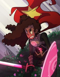 I know I'm late to the warrior Stevonnie party but… darn I just really cannot get enough warrior Stevonnie. If you like the art, and want to support me, you can buy a print or phone case here.Otherwise, any likes, reblogs, and general feedback is greatly appreciated! ^^