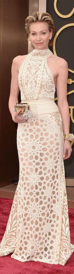 Oscar Award Winning Fashion 2014 - Portia de Rossi in Naeem Khan (one of the best dressed in my opinion)