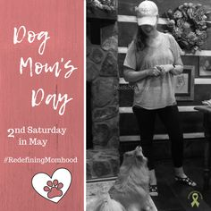 The 2nd Saturday in May is Dog Mom's Day! If you are redefining as a pet parent, I encourage you to celebrate your pet mom role! Because being a mom is about so much more... | Read more about my Childless Dog Mom Journey at Not So Mommy..., an infertility & childless not by choice blog. | Dog Mom | Dog Moms | Dog Mom's Day | Dog Moms Day | Dog Mommy | Dog Mom Life | Dog Mom Blog | Dog Mom Blogs | Dog Mom Blogger | Dog Mom Love | Fur Mom | Fur Moms | Fur Mama | Fur Mamas | Pet Parent | Dog Lover Cute Puppy Photos, National Day Calendar, Mom Day, Mom Blogs, Dog Mom, Cute Puppies, Fur Babies, Dog Lovers, Journey