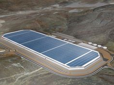 More flying drone footage reveals Tesla's Gigafactory in mid construction | Minds