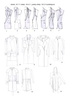 coat and suit sketches.