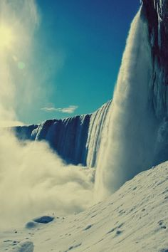 The beauty of Niagara Falls.