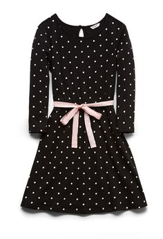 Polka Dot Fit and Flare Dress (Kids) #F21Girls
