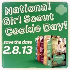 National Girl Scout Cookie Day #WW Wordless Wednesday with Linky - Girl Scout Cookies via Moms Bookshelf & More: